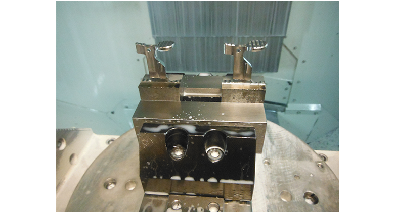 5 axis mill machining