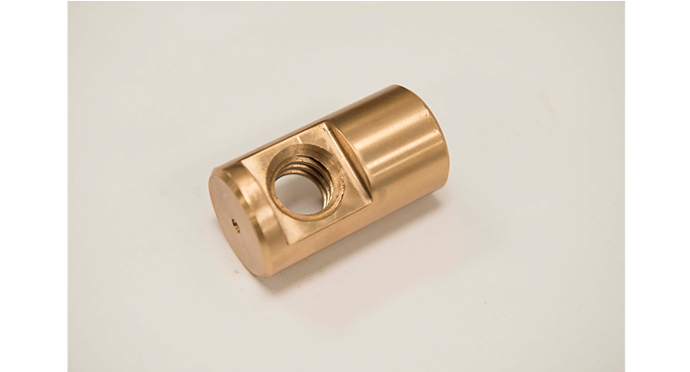 Custom brass bushing