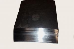 Custom CNC MAchining of a Cast Steel Spade Lug